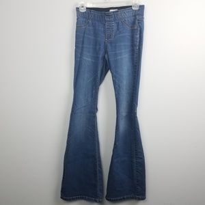 Free People Womens Size 27 Jeans Flare Stretch